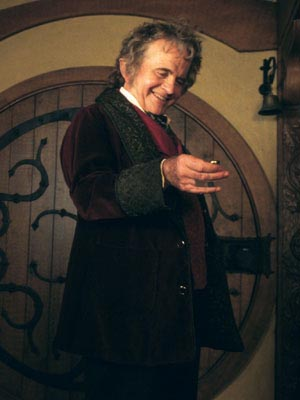 Bilbo Baggins, first Cappo for the Finger of Baggins
