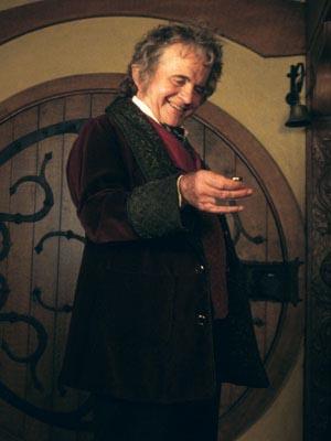 Bilbo Baggins, first Cappo for the Finger of Baggins