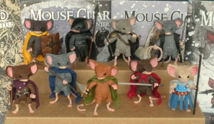 Mouse Guard models.  Copyright 2009 Walter Darkwolf Harris.