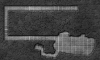Figure 2 - Simple dungeon after running the script